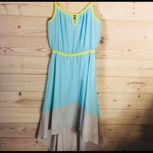 Willow & Clay asymmetrical high low dress